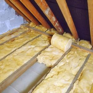 Izolatie termica a acoperisului
