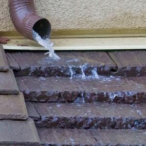 Sistemul pluvial al acoperisului